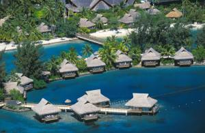 InterContinental Moorea Over Water Bungalow