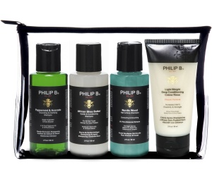 Philip B Green Eco Travel Kit Hair Shampoo Conditioner
