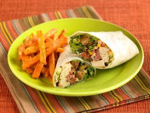 Veggie Grill Chickin Caesar Wrap