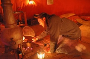 Wales Eco-Retreats Meditation Yurts Tipi