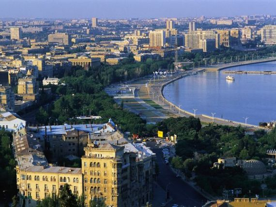 Baku, Azerbaijan, Baby!