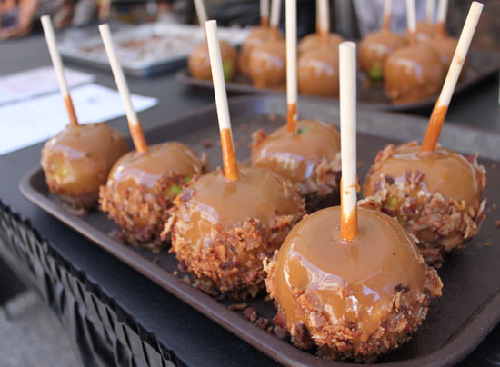 Bacon Caramel Apples? That's right!