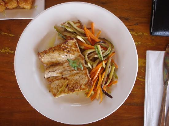 Filet of Dorado at Mergulahao, Noronha's #1 Restaurant TripAdvisor