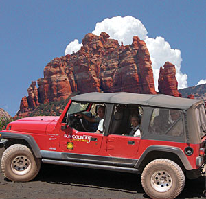 Sun Country Adventures - Sedona Jeep Tour