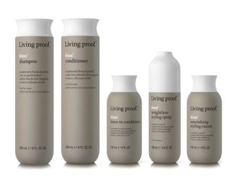 Living Proof No Frizz Hair Care Line