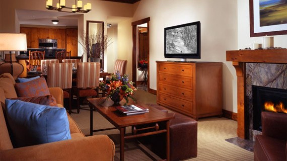 A One Bedroom Suite at Stowe Mountain Lodge