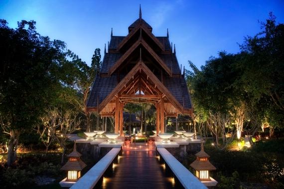 Anantara Xishuangbanna Garden Walkway