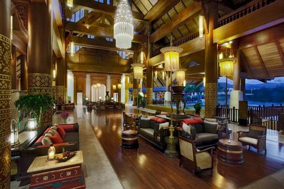 Anantara Xishuangbanna Lobby