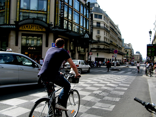 Bike Paris? Oui.