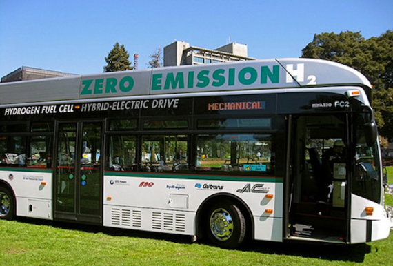A Hydrogen Powered Bus