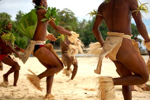 Dancers in Papau New Guinea