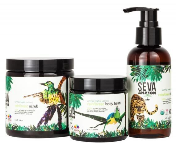 Balanced Guru's SEVA AMAZON Body Care Products
