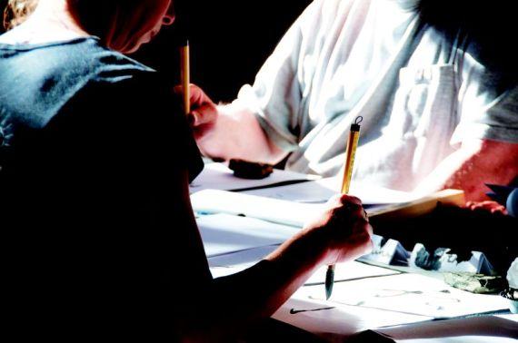Calligraphy (c) Mitsue Nagase
