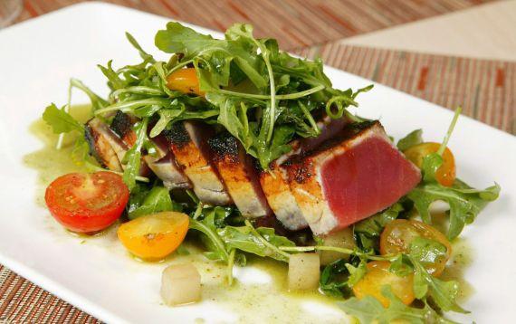 Delicious healthy cuisine