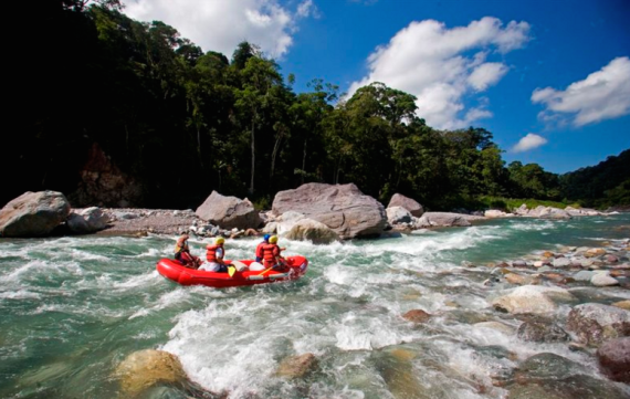Honduran Rafting Excursion!