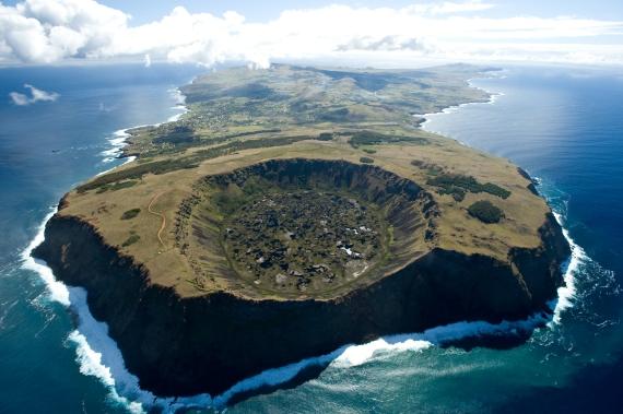 Fotografías Aereas; Hotel Explora Rapa Nui