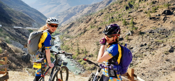 bhutan outdoor adventures biking hiking